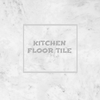 A new kitchen floor