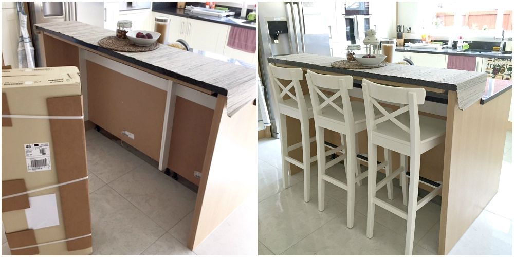 DIY home Ikea bar stools