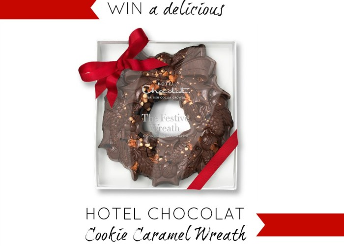 The gift of Christmas Chocolate from Hotel Chocolat + Giveaway