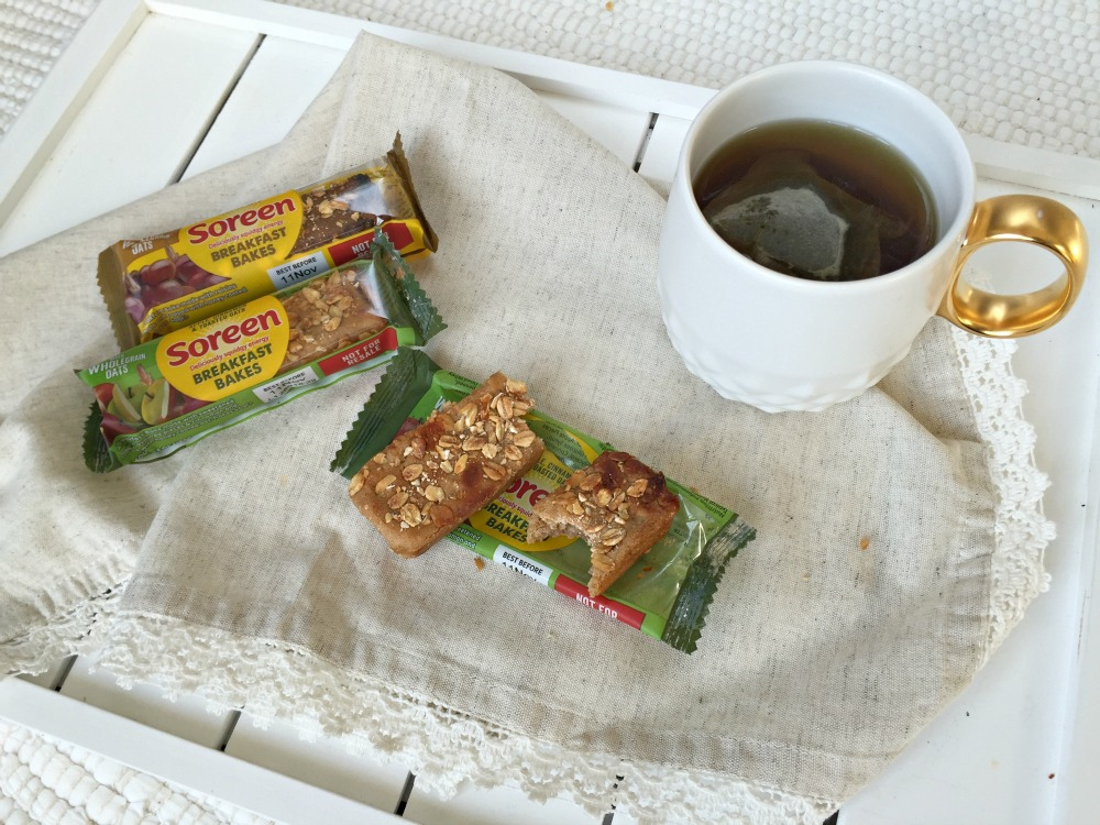 Soreen Breakfast Bakes snack bars #littleloves