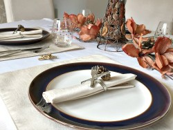 Happy Thanksgiving Tablescapes Table setting set my table holidays