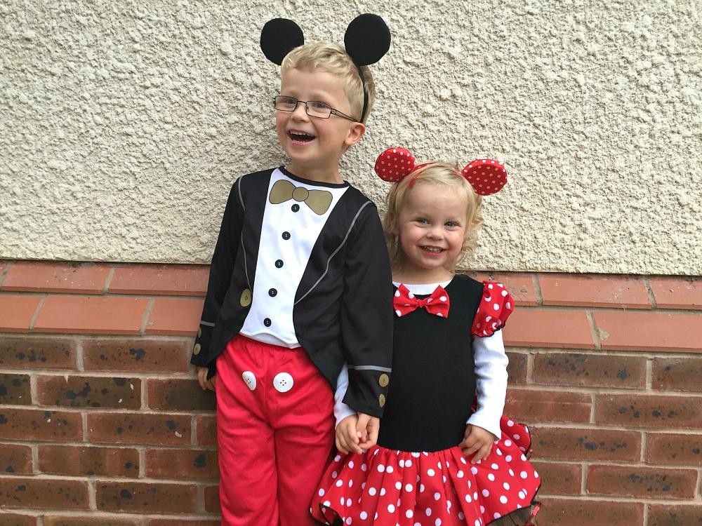 Halloween 2015 Mickey & Minnie Mouse