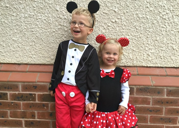 Halloween 2015 Mickey and Minnie Mouse