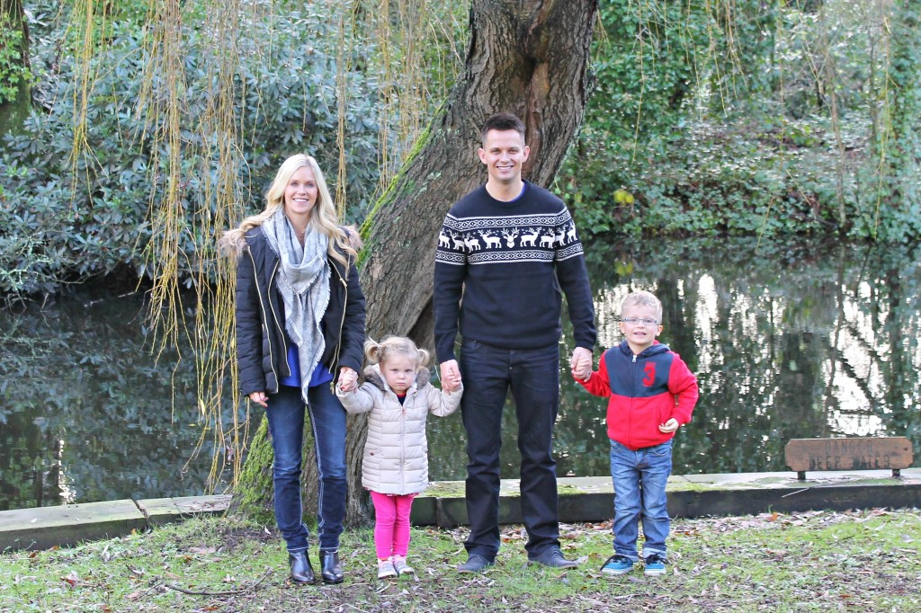 Me & Mine December a monthly portrait project