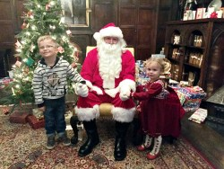 top christmas tips Seeing santa