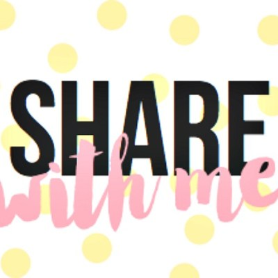 Share With Me Blog Hop #12 + WIN