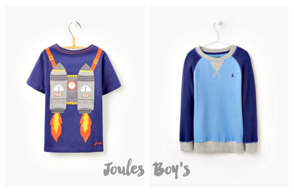 Joules clothing boy's kidswear
