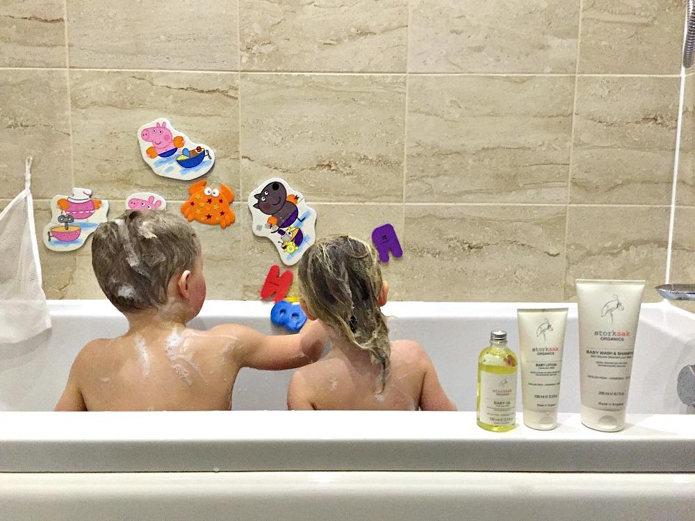 Storksak Organics Baby Lotion and Baby Cream #Littleloves
