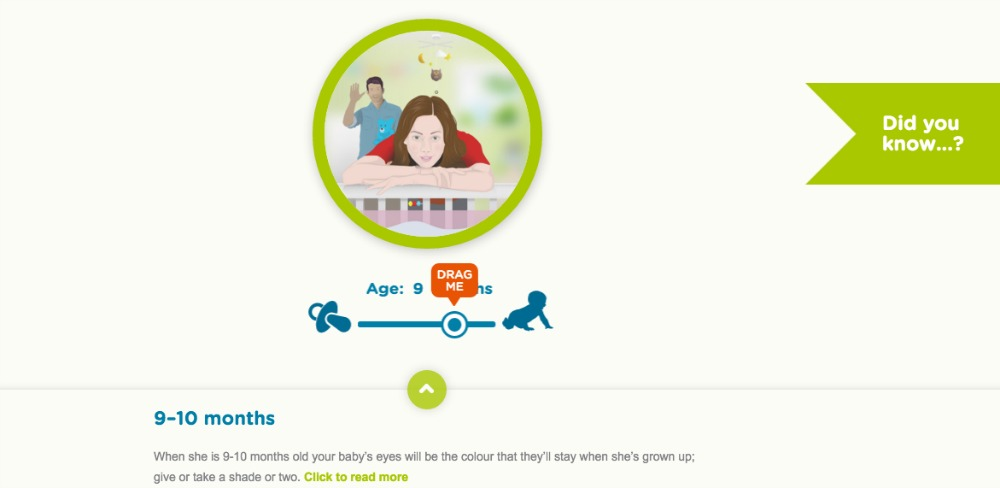 Vision direct baby's vision interactive tool see the world through your child's eyes