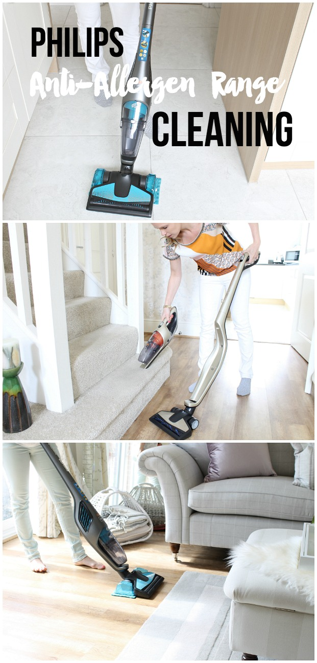 Philips PowerPro Aqua Duo cordless vacuum mop review cleaning