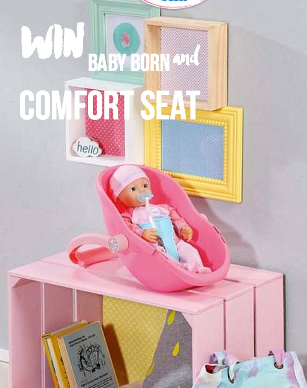 My Little Baby Born and Comfort Seat