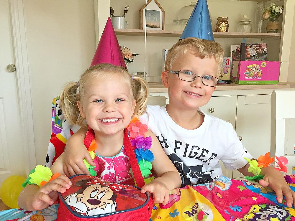 A third birthday celebration party
