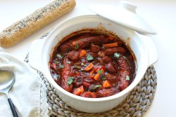 Spicy Sausage Casserole Recipe for all year round sausage and chorizo casserole