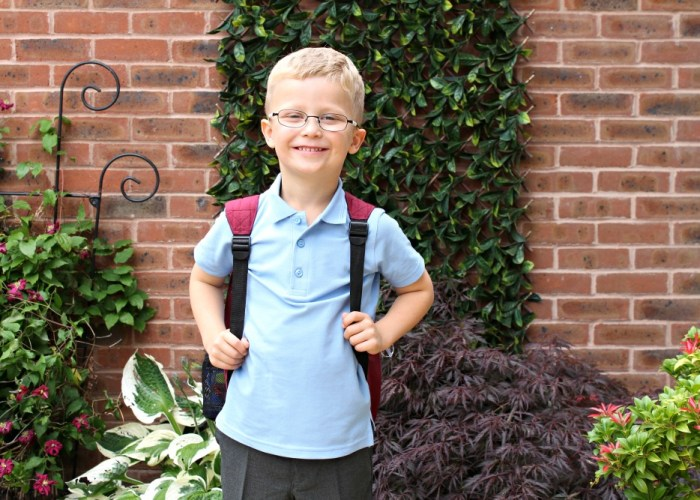 "Back to School ""Then & Now"""