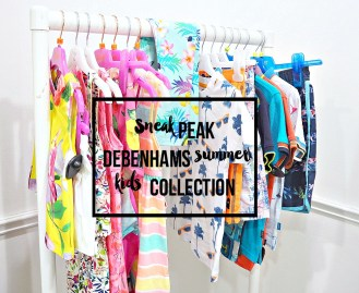 Styled by Debenhams with the new kids summer collection