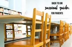 Back to Uni Survival Guide For Parents