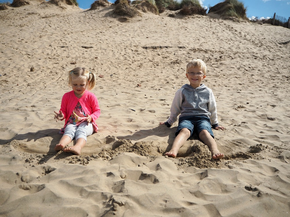 Formby Beach Family Day Out How to have a great unplanned family day out