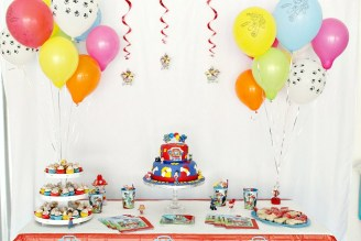 A Paw Patrol Birthday Party for two