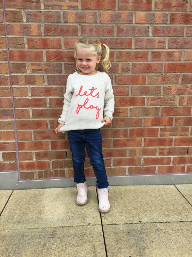 kids fashion Let's Play sweater M&S kids
