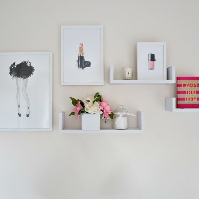 Gallery walls using Scandinavian prints