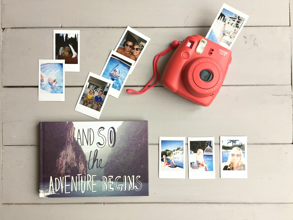 instax and traveling with little ones