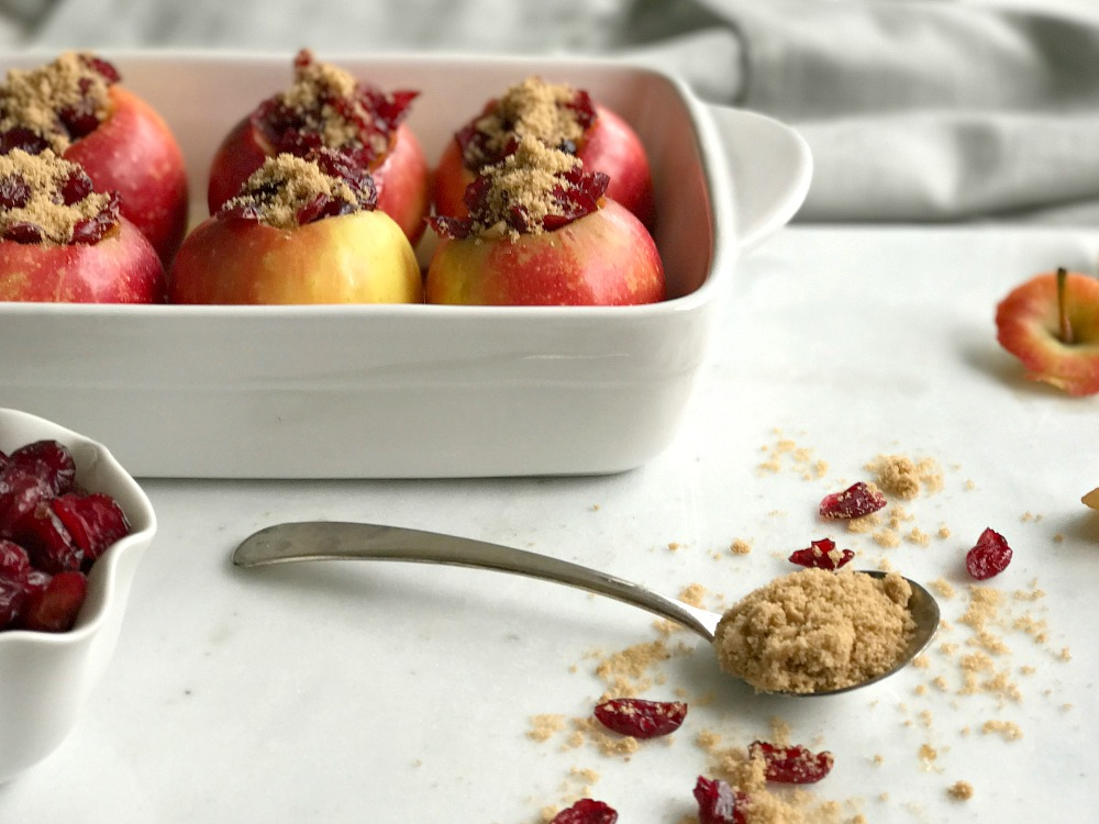 Cranberry Baked Apples
