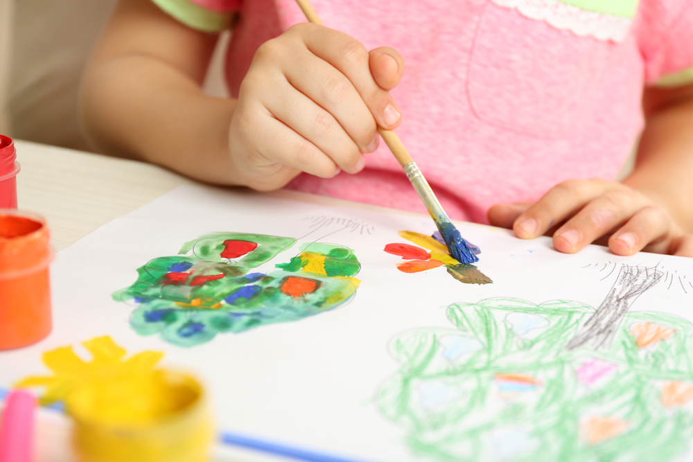 early child development and four stages of art that help