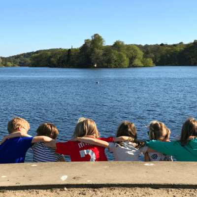 Playdates at Trentham Gardens