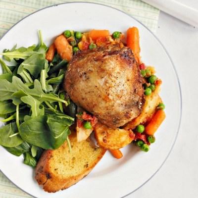 No Food Waste: Rustic Chicken Casserole