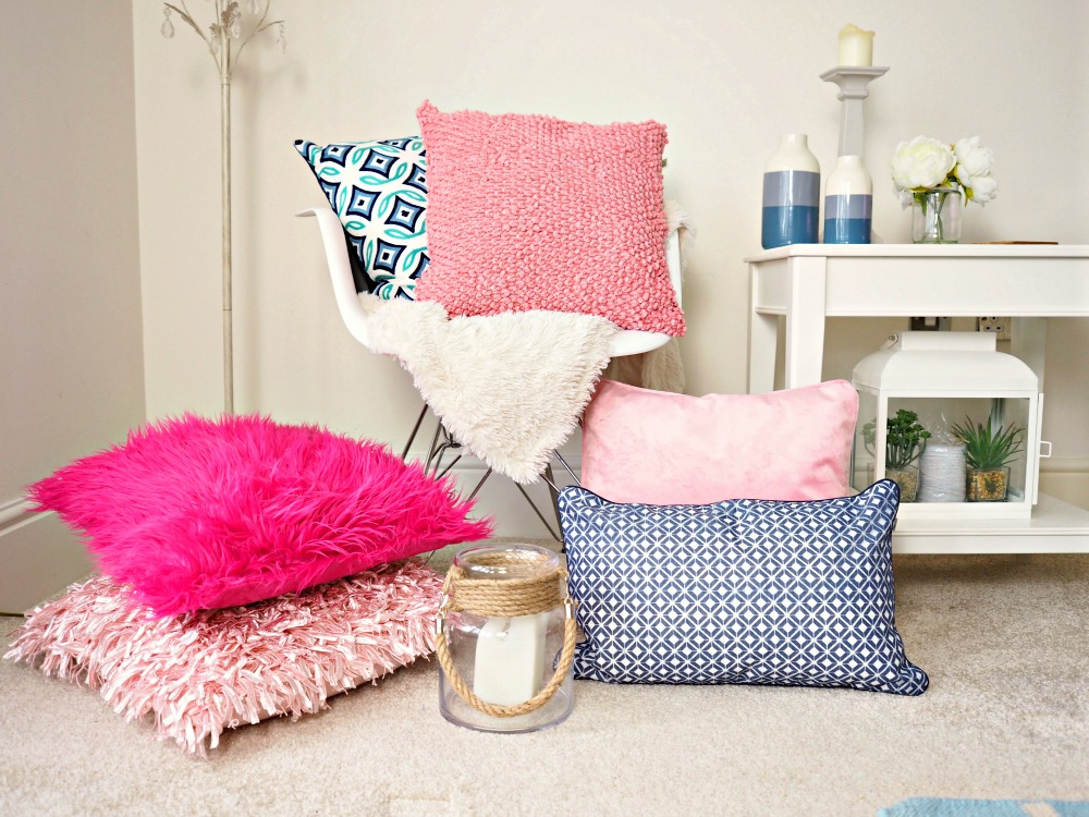 home interior additions Think Pink with Dutch Decor Cushions Wayfair home inspiration