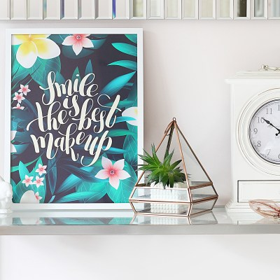 How to Style Posters in your Home