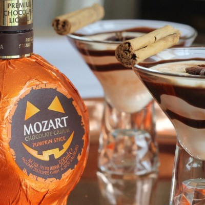 Halloween Cocktails: Chocolate Pumpkin Spice Martini