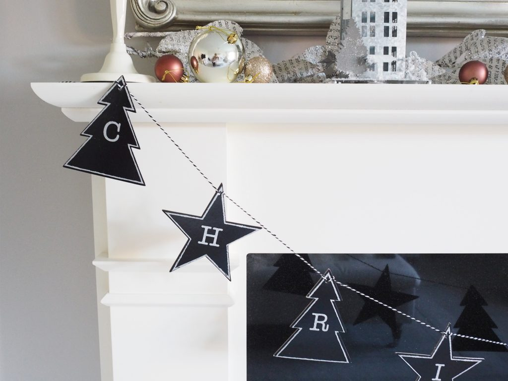 Decorating a Christmas Fireplace Mantel with Next