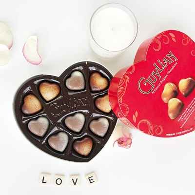 WIN a Valentine's Day Box of Guylian Chocolate Praline Sweethearts