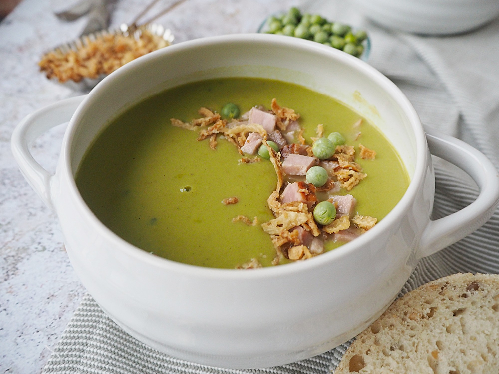Pea and Ham Soup #TheWayWeMakeIt Cully and Sully Soups recipes