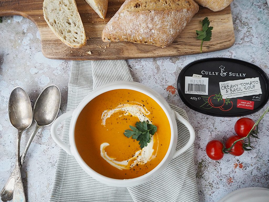 tomato and basil soup cully and sully #TheWayWeMakeIt Cully and Sully Soups recipes