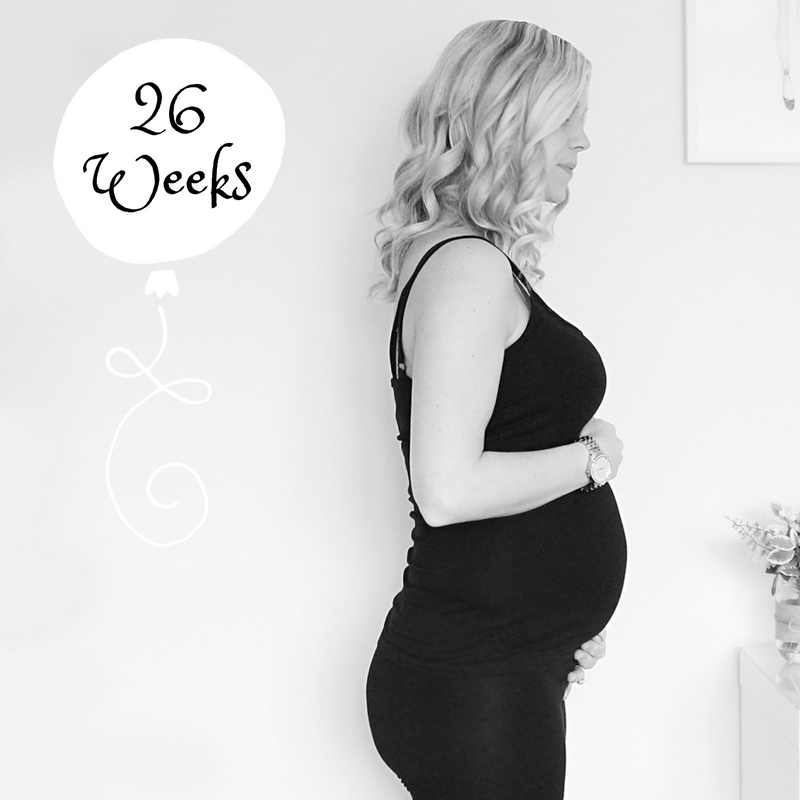 Pregnancy 26 Weeks Bump Watch pregnant diaries
