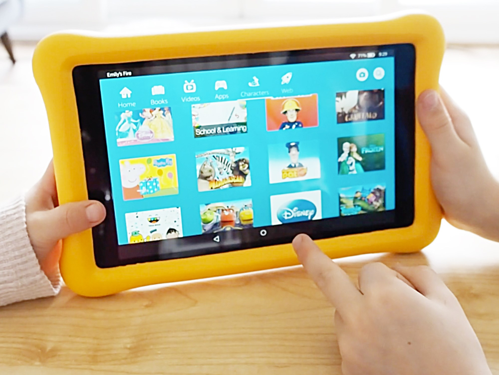 Amazon Kindle Fire HD 8 Kid's Edition review tablet