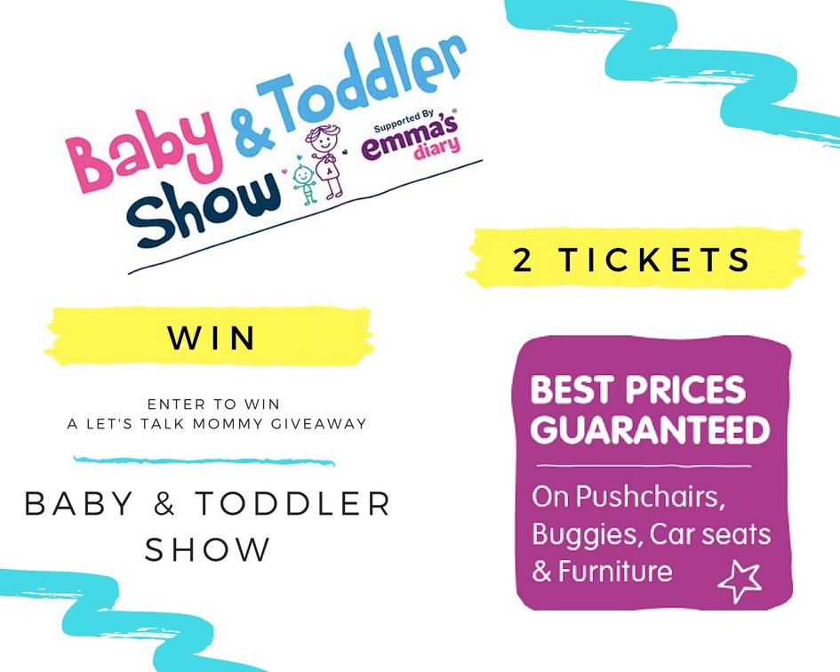 Win Baby & Toddler Show 2 tickets your three locations competition prize comp