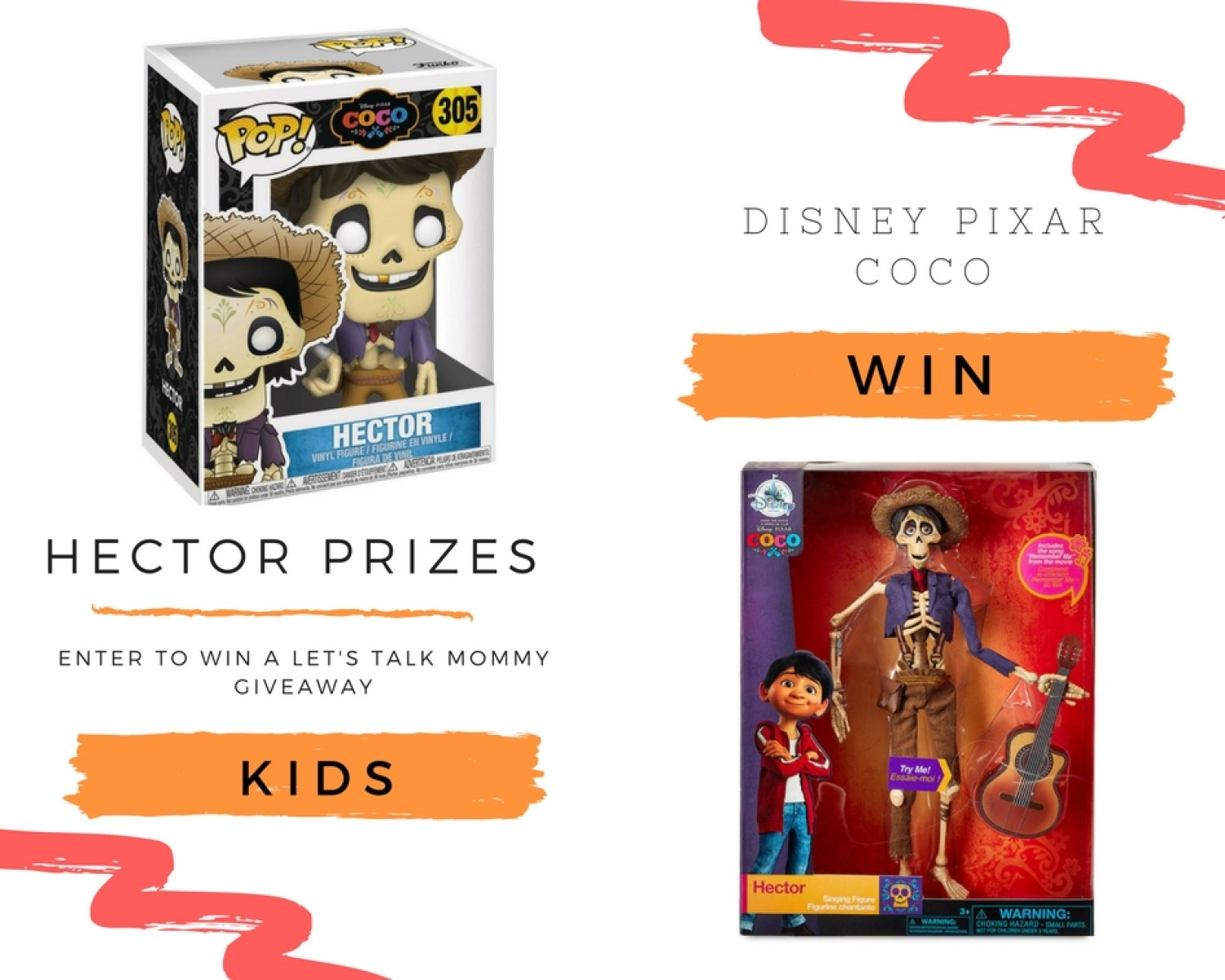 Disney Pixar Coco review and Hector Giveaway