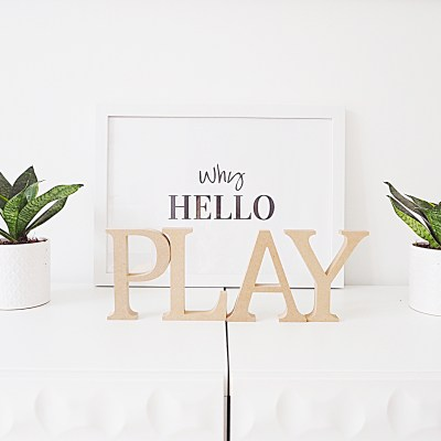 Playroom Makeover with Sainsbury's Home + £100 Giveaway