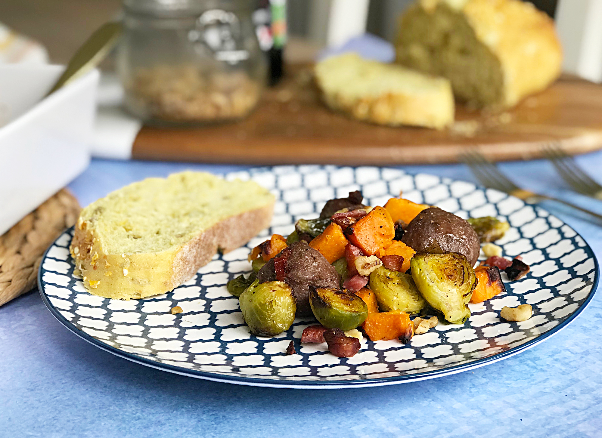 Meatballs & Sprouts for FATHER'S DAY recipe