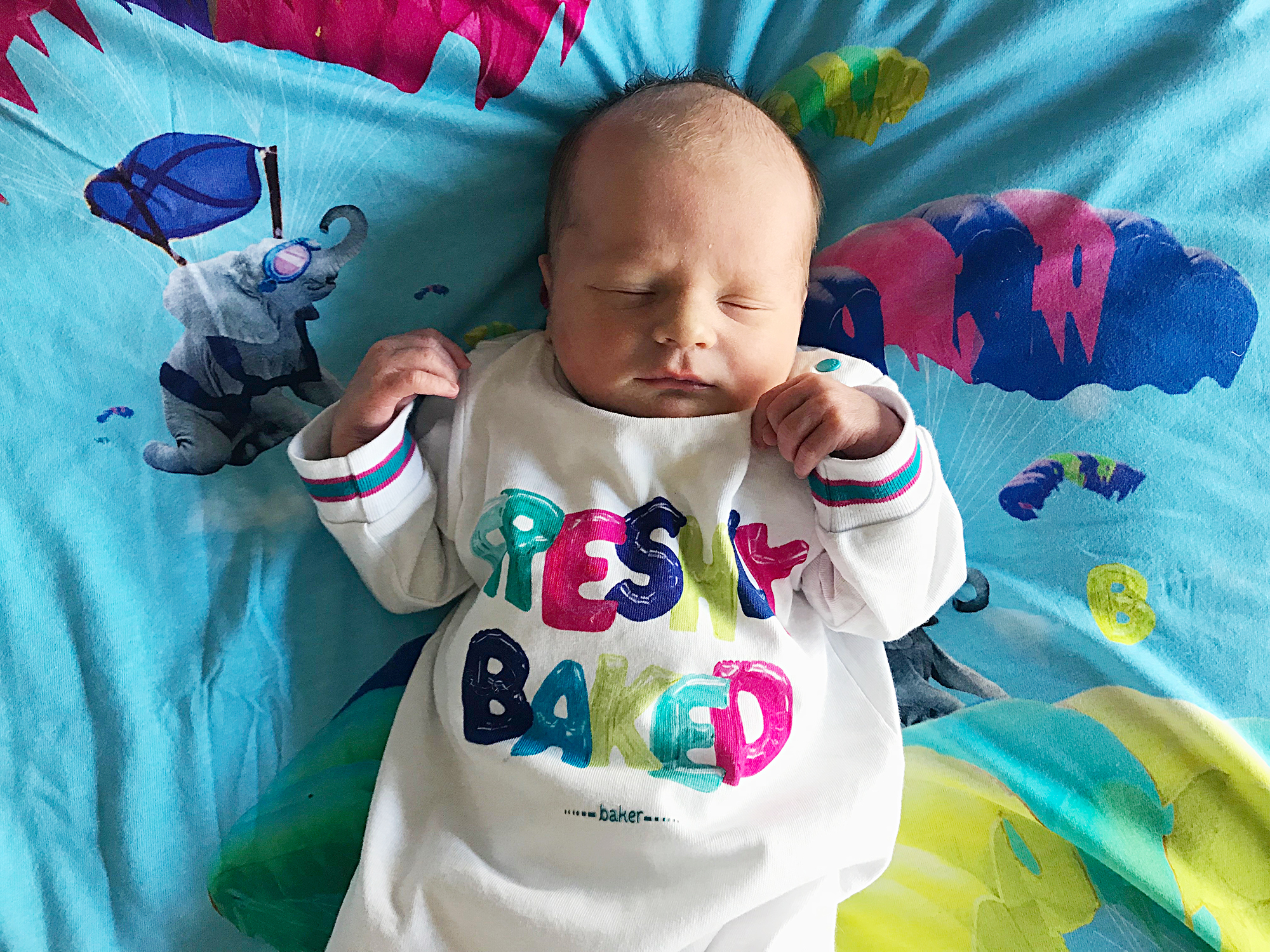 welcome new baby bank holiday
