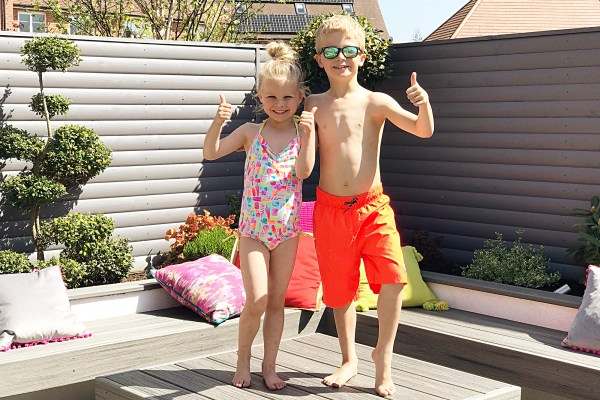 A Bank Holiday Surprise, hot weather, and coping with loss