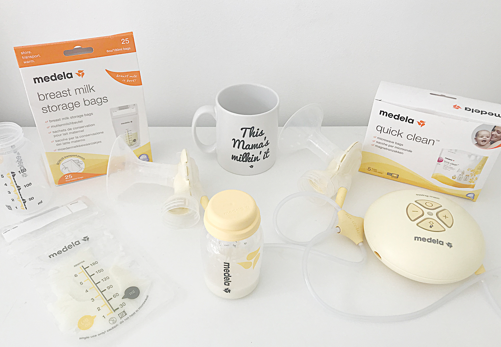 Breastfeeding Medela Swing maxi double electric breast pump