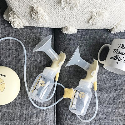 Milking it with my Medela Swing Maxi double Electric Breast Pump