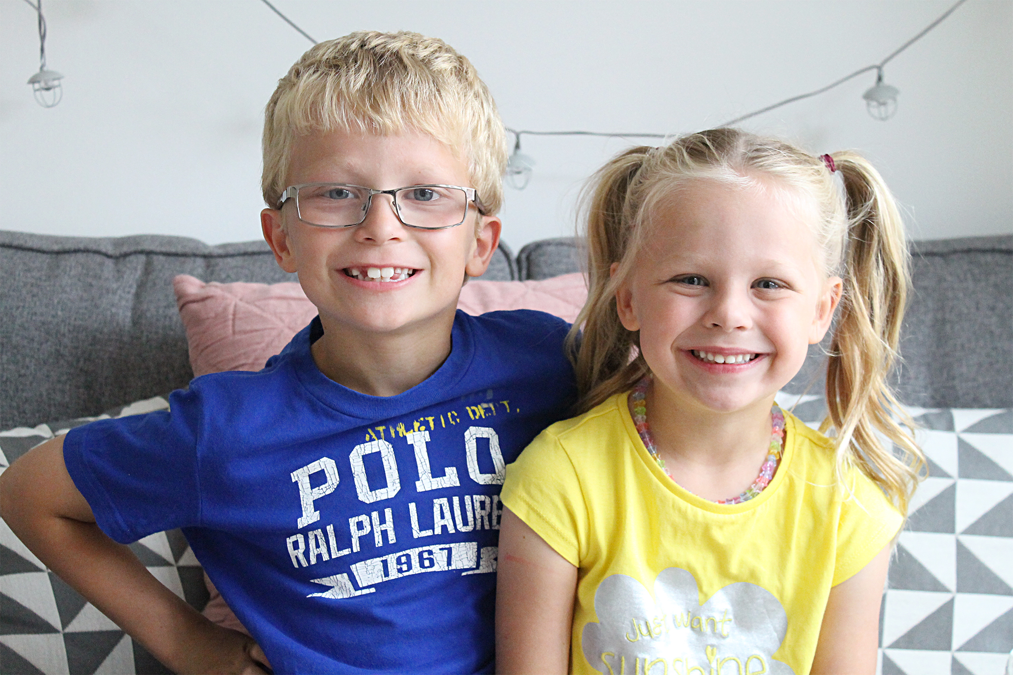 June Siblings family project