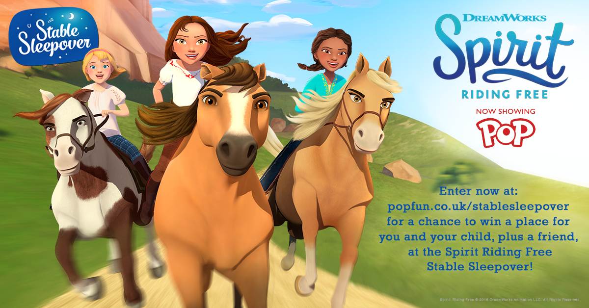Spirit Riding Free Stable Sleepover Competition