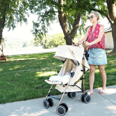 Ickle Bubba Discovery Stroller comes with us to America