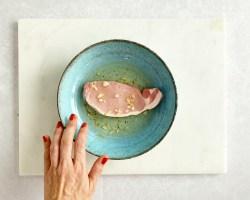 Garlic Pork Steaks with Honey Roasted Butternut Squash by Hello Fresh